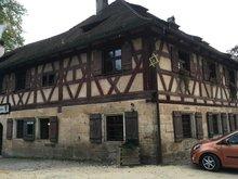 Einfach urig: Die Dorfkneipe in Rockenbrunn,